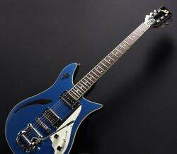 New Duesenberg Ddc-ctb Double Cat Catalina Blue Electric Guitar From Japan