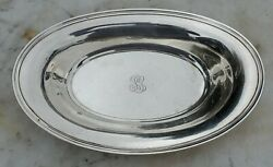 And Co. Sterling 20601 Platter-6 5/8 X 10 5/8-pg Mono-john C Moore Ii