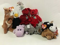 Beanie Baby Ty Tags/no Tags P.v.c And P.e Pellets Vintage Beanie Babys