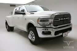 2019 Ram 3500  2019 Navigation Leather Heated Bluetooth Camera I6 Diesel Vernon Auto Group
