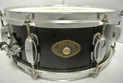 ADD this TAMA ROCKSTAR 14quot; BLACK SNARE to YOUR DRUM SET TODAY LOT #K279