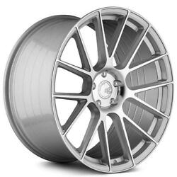 4ea 20 Staggered Avant Garde Wheels Vanquish Silver Machined Rims S2