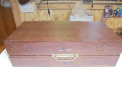 Hand Carved Wooden Chest Set From Japan Or China In Fair Shape.