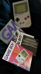 Nintendo Game Boy Compact Video System One Owner Original Box