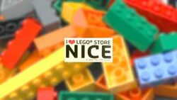 Lego Collector - Tile I Love Lego Store Nice- Collector - Exclusive - No Ucs