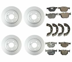 Genuine Front And Rear Brake Kit Disc Rotors Pads And Shoes For Bmw F15 F16 X5 X6