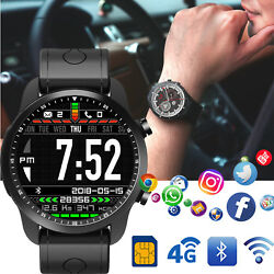 Luxury 4G Smart Watch Wifi GPS Call Unlocked Touch Screen for iphone LG Moto HTC