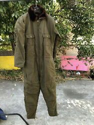 Buaer US Navy AL-I coverall Korean war cold climate flight suit