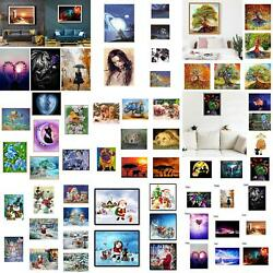 Full/partial Drill 5d Diamond Painting Embroidery Cross Diy Stitch Kits Decor