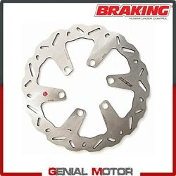Wh8102 Brake Disc Front Left Braking W-flo Piaggio Beverly Rst 4t 2010 2015
