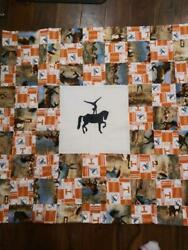Quilt Horse Equine Vaulting Tennessee Vols Volunteers Christmas Ut Football