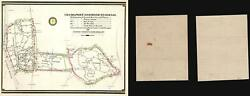 1945 White House Signal Detachment Map Of The Phone Network At Hyde Park Ny