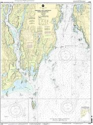 Noaa Chart Kennebec And Sheepscot River Entrances 12th Edition 13295