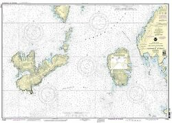 Noaa Chart Southern Entrances To Sumner Strait 12th Edition 17402