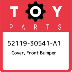 52119-30541-a1 Toyota Cover Front Bumper 5211930541a1 New Genuine Oem Part