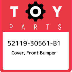 52119-30561-b1 Toyota Cover Front Bumper 5211930561b1 New Genuine Oem Part
