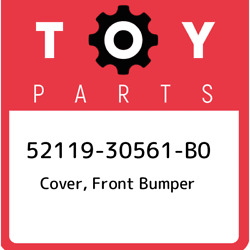 52119-30561-b0 Toyota Cover Front Bumper 5211930561b0 New Genuine Oem Part