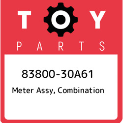 83800-30a61 Toyota Meter Assy Combination 8380030a61 New Genuine Oem Part