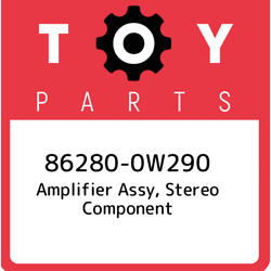 86280-0w290 Toyota Amplifier Assy Stereo Component 862800w290 New Genuine Oem