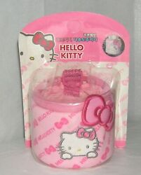 Hello Kitty Auto Accessory Beverage Cup Drink Holder Sanrio 2008 Pink