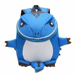 Children#x27;s School Bags Kids Dinosaur Backpacks Zipper Nylon Girls Boys 1 6 Years $24.36