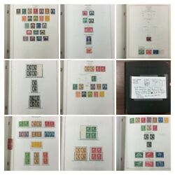 Us Stamp Collection From 1920 To 1975 W/airs And B.o.b. Mint And Used