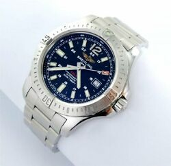 Breitling Colt Automatic Menand039s Watch Steel Ref. A17388 Box Documentation 2016