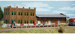 Walthers Cornerstone Ho Scale Building/structure Water Street Freight Terminal