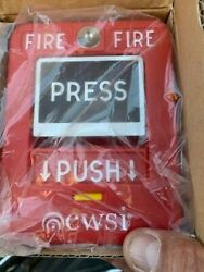 New Cwsi Model 310 Pull Station 1 Yr. Protection. Plan, Free Shipping, 6 Avail