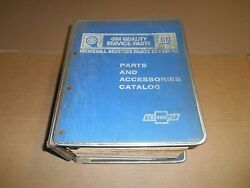 1976 1977 1978 1979 1980 1981 Chevrolet Parts And Illustration Books