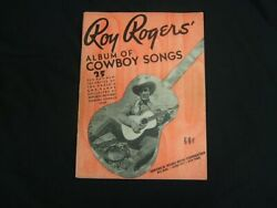 Vintage Roy Rogers' Album Of Country Songs Edward B. Marks Music Corp. Gc