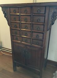 Chinese Medicine Chest Of Drawers - Vintage/antique