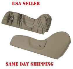 Driver Side Seat Trim Bezel Tan / Beige Lh Fits 2001 - 2004 Tacoma With Clip