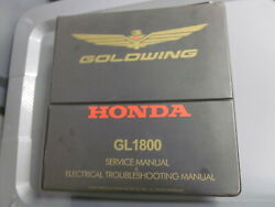 Honda Factory Service And Electrical Troubleshooting Manual 2001 Gl1800 W/binder