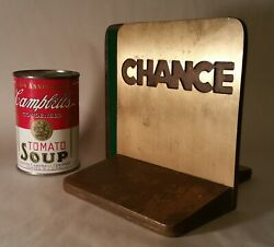 A B Chance Hubbell Vtg Steel Iron Company Industrial Office Desk Electrical Art