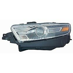 Fo2502361 Left Side Halogen Headlight Assembly For 2016-2017 Ford Taurus