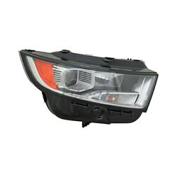 Fo2503343 Right Side Hid Headlight Assembly For 2015-2018 Ford Edge