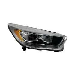 Fo2519135 Right Side Head Light Lens Housing For 2017-2018 Ford Escape