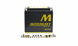 Motobatt Ytx20hl-bs Using Lithum And Agm Technology To Give High Cranking Output
