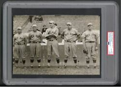 1915 Babe Ruth Rookie Type 1 Photo Taken At World Series PSADNA LOA Red Sox