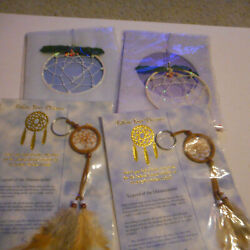 Lot Of 4 Legend Of The Dreamcatchers Small Assorted Dream Catchers New Sealed