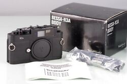 Voigtlander Bessa R3a Black For Leica M Mount Body New Boxed Old Stock
