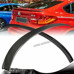 For 2015-2017 Bmw X4 F26 Performance Style Real Carbon Fiber Rear Trunk Spoiler