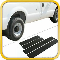 99-07 Fits Super Duty Crew Mud Flaps 4pc Guard Front Rear W Scuff Door Protector