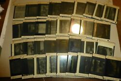 Lot Of 34 Antique Glass Slides History Of Education By Paul Monroe 1920s
