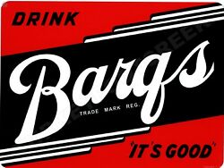Barqs Root Beer 12 X 16 Sign