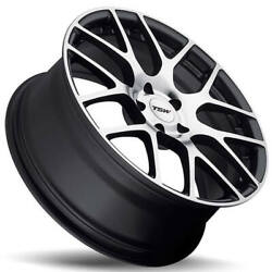 4ea 22 Staggered Tsw Wheels Nurburgring Gunmetal Rotary Forged Rims S5