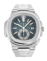 Patek Philippe Nautilus 5980 Chronograph Steel Watch BoxPapers 59801A