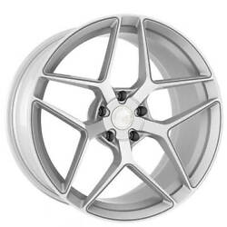 4ea 19 Staggered Avant Garde Wheels M650 Silver Machined Rims S5