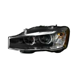 Bm2518144 New Left Side Headlight Lens And Housing Fits 2015-2017 Bmw X3